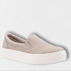 NEW Croft Clay Pinhole Platform Fashion Sneakers